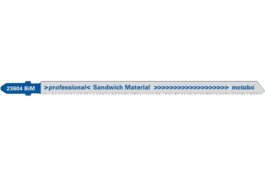 Пилки для лобзика Metabo 623604000 пилки для лобзика по металлу для прямых пропилов bosch t118a 1 3 мм 5 шт