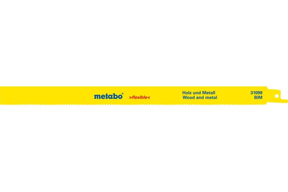 Пилки для лобзика Metabo 631098000 подставка д торц пил metabo ksu 401 400см 2 629006000