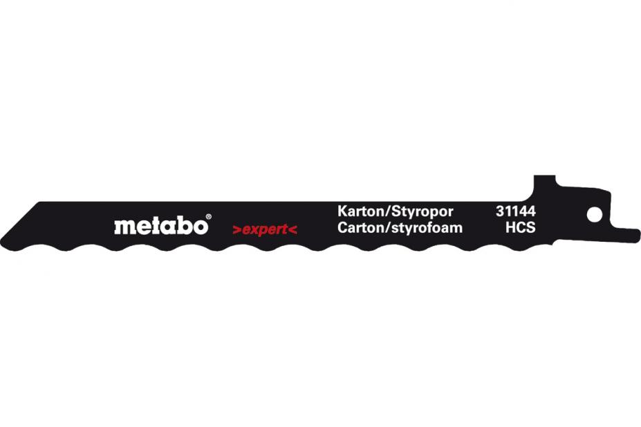 Пилки для лобзика Metabo 631129000 пилки для лобзика по металлу для прямых пропилов bosch t118a 1 3 мм 5 шт