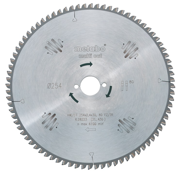 Диск пильный твердосплавный Metabo 628073000 пильный диск по дереву 216x1 8x30 мм metabo 628065000