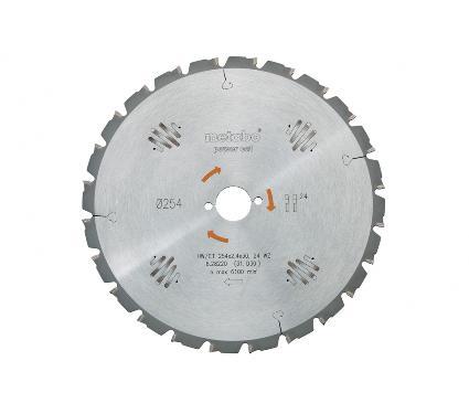 Диск пильный твердосплавный METABO Ф190х30мм 14зуб. (628005000)