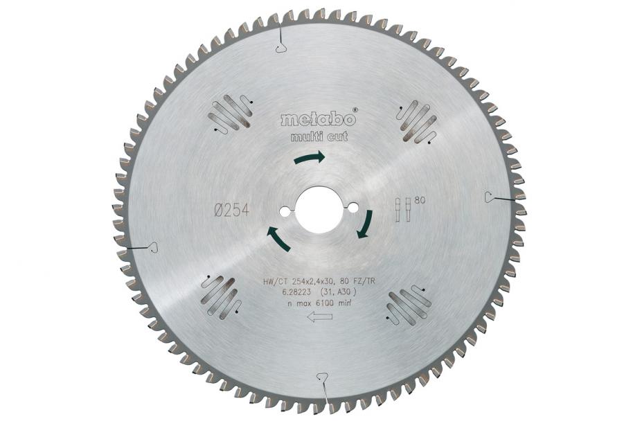 Диск пильный твердосплавный Metabo 628081000 диск пильный твердосплавный hammer 335х32 30мм 64 зуб