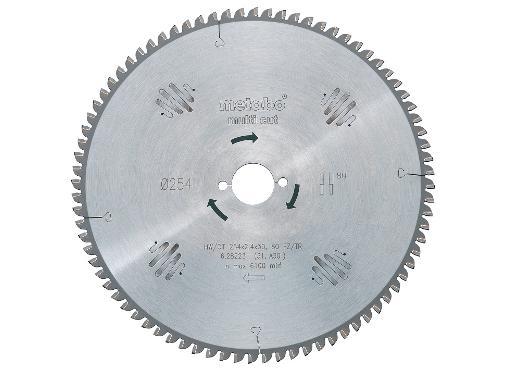 Диск пильный твердосплавный METABO Ф230х30мм 60зуб. (628085000)