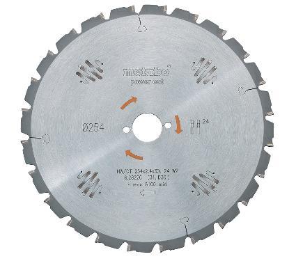 Диск пильный твердосплавный METABO Ф350х30мм 22зуб. (628017000)