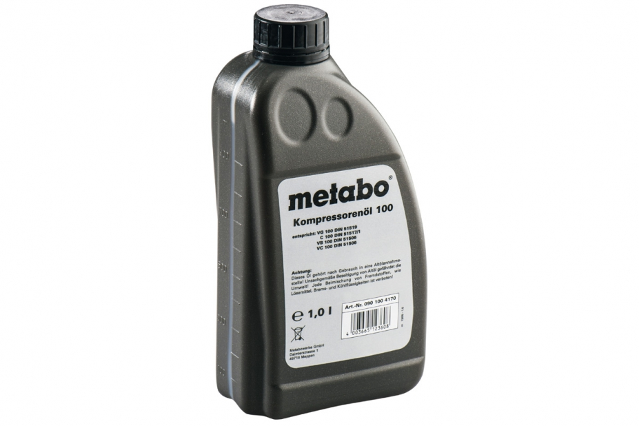 Масло компрессорное Metabo 901004170