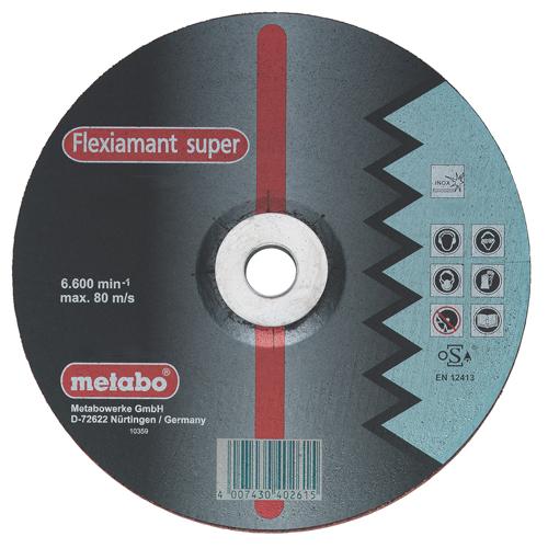 Круг отрезной Metabo 125х1х22 616187000 круг отрезной hammer 115 x 1 2 x 22 по металлу и нерж стали коробка 400шт
