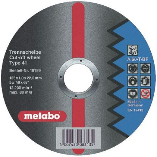 Круг отрезной Metabo 616189000 20pcs free shipping 25tts12fp to 220f scrs 1200 volt 25 amp new original