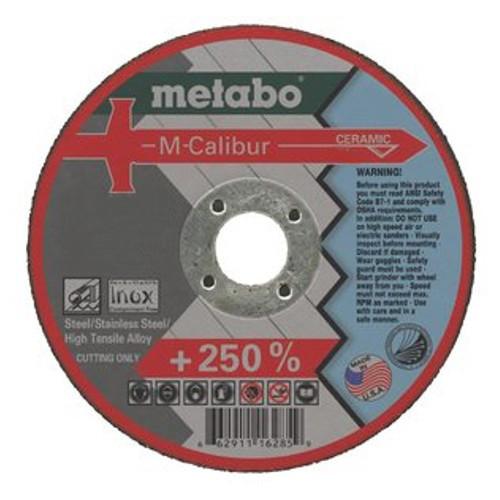 Круг отрезной Metabo 115х1.6х22 616285000 фреза metabo rf14 115 чашка острая