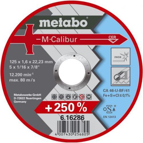 Круг зачистной Metabo 125х7х22мм