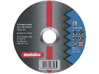 Круг обдирочный Metabo 125х6х22мм c24n  - Купить