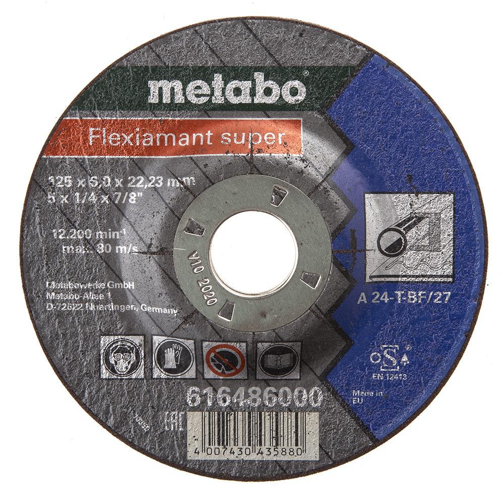 Круг обдирочный Metabo 125х6х22мм a24t диск x& 039 trike x 125 6 5xr16 4x108 мм et45 hsb fp page 6