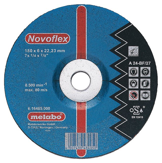 Купить Круг зачистной Metabo 125х6х22мм