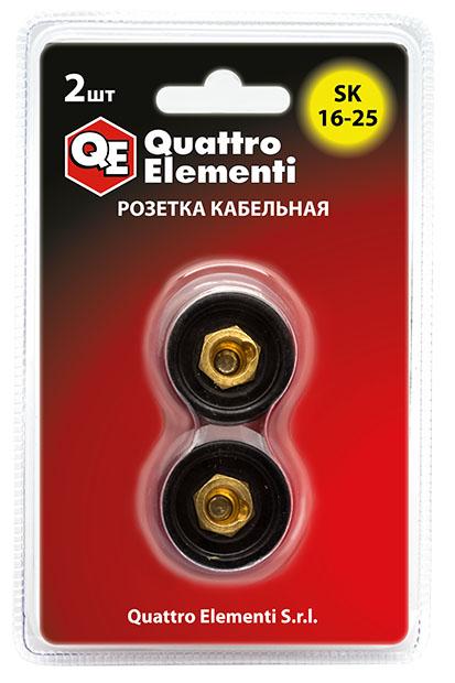 Розетка Quattro elementi Qe sk 16-25