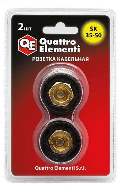 Розетка Quattro elementi Qe sk 35-50 цена и фото