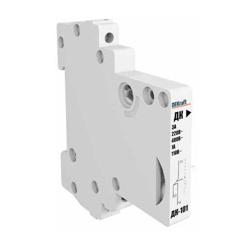 Контакт DekraftАвтоматические выключатели<br>Номинальный ток: 6,<br>Тип выключателя: контакт,<br>Количество полюсов: 1,<br>Степень защиты от пыли и влаги: IP 20<br>