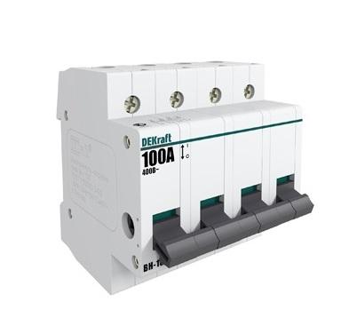 Выключатель Dekraft 17015dek автомат 1p 20а тип c 4 5ка dekraft ba 101