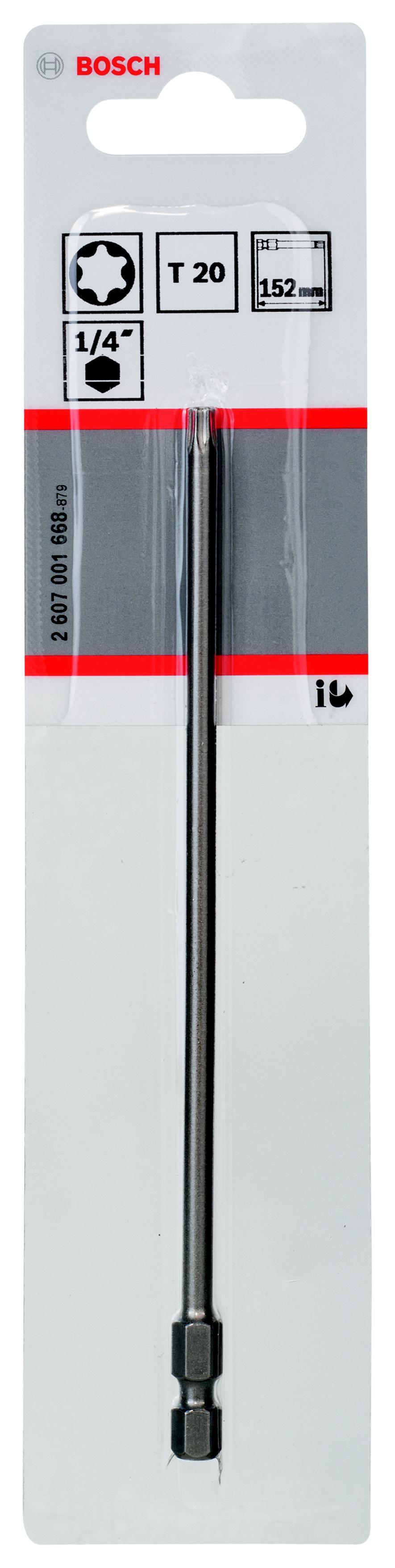 Бита Bosch T20 152мм (2607001668) цена и фото