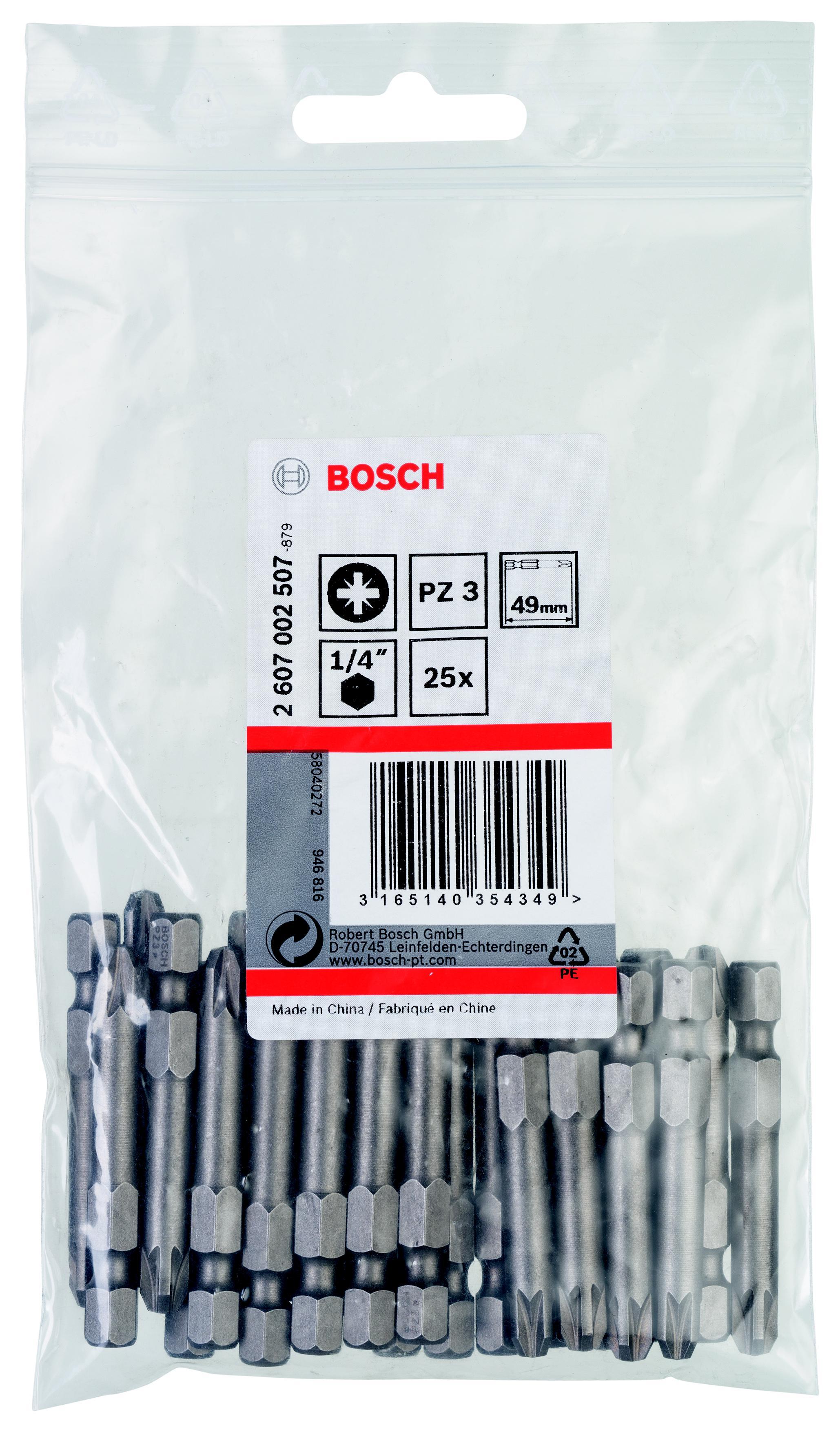 Бита Bosch 2607002507 пуфики для ног