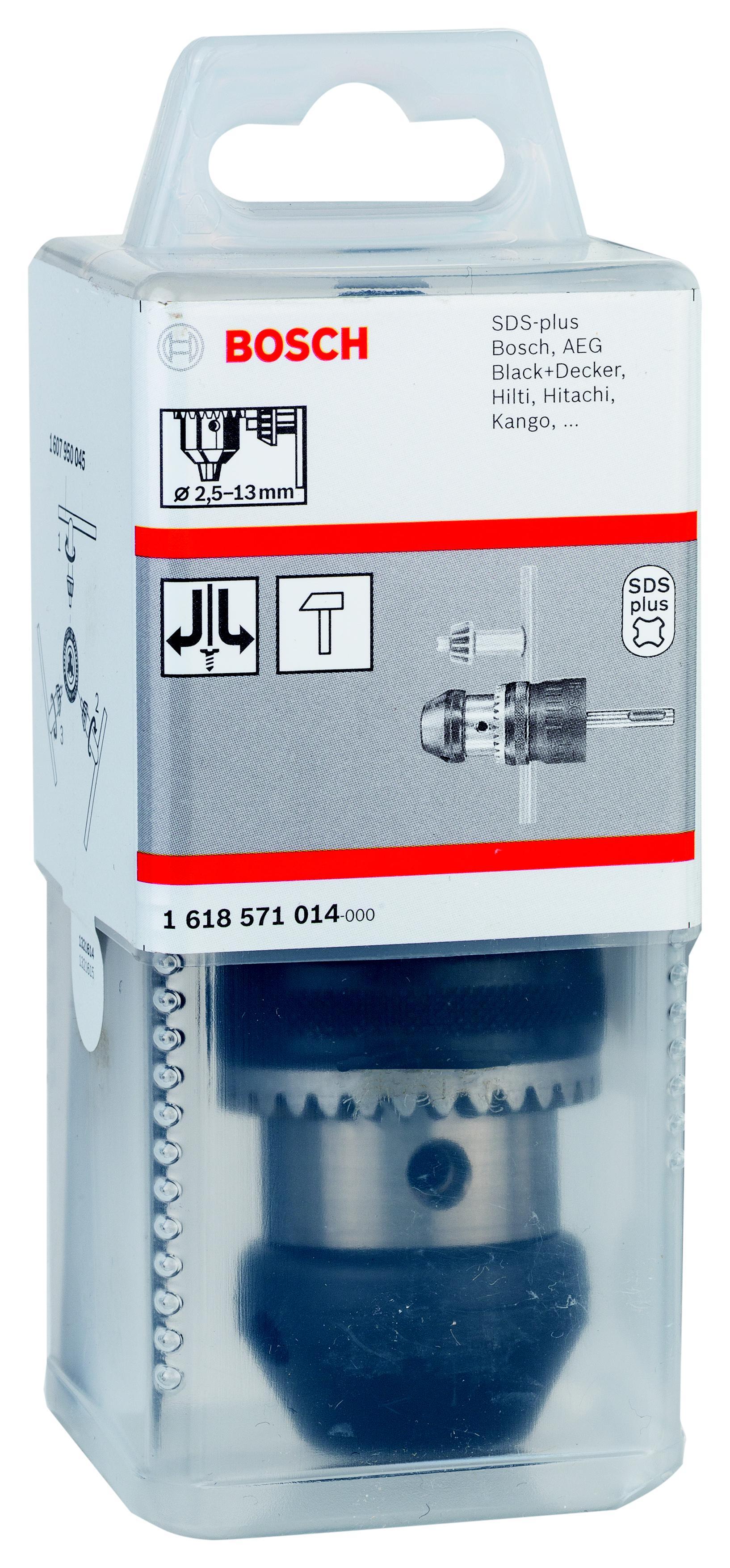 Патрон для дрели Bosch Ф13мм 1/2 (1618571014) цена