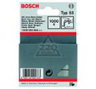 Скобы для степлера BOSCH 1609200366