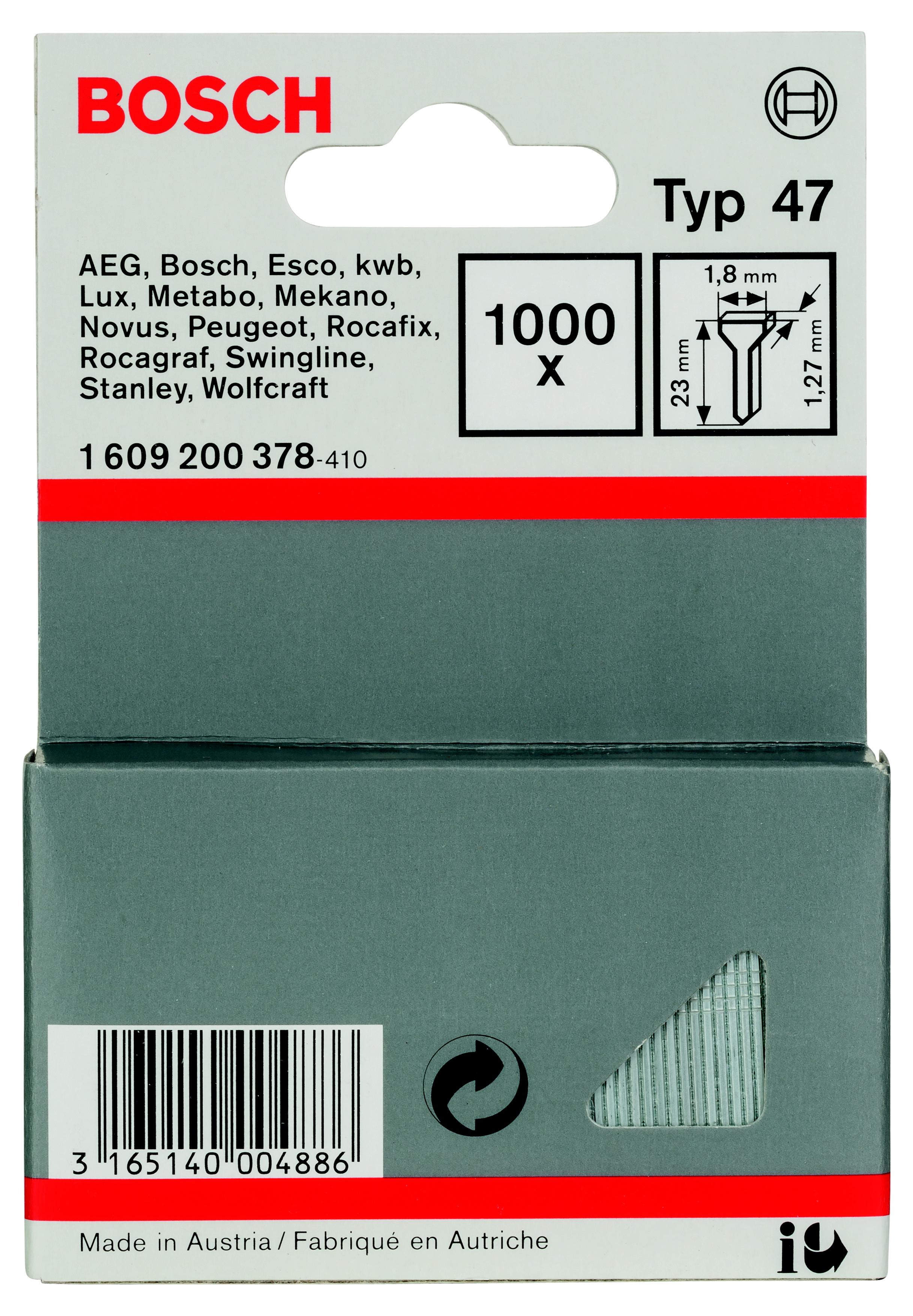 Гвозди для степлера Bosch 1609200378 bosch gbh 2 23 rea