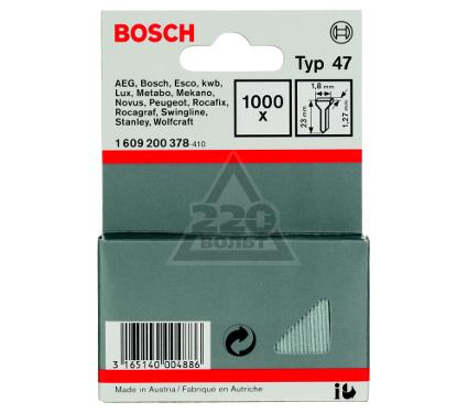 Гвозди для степлера BOSCH 1609200378