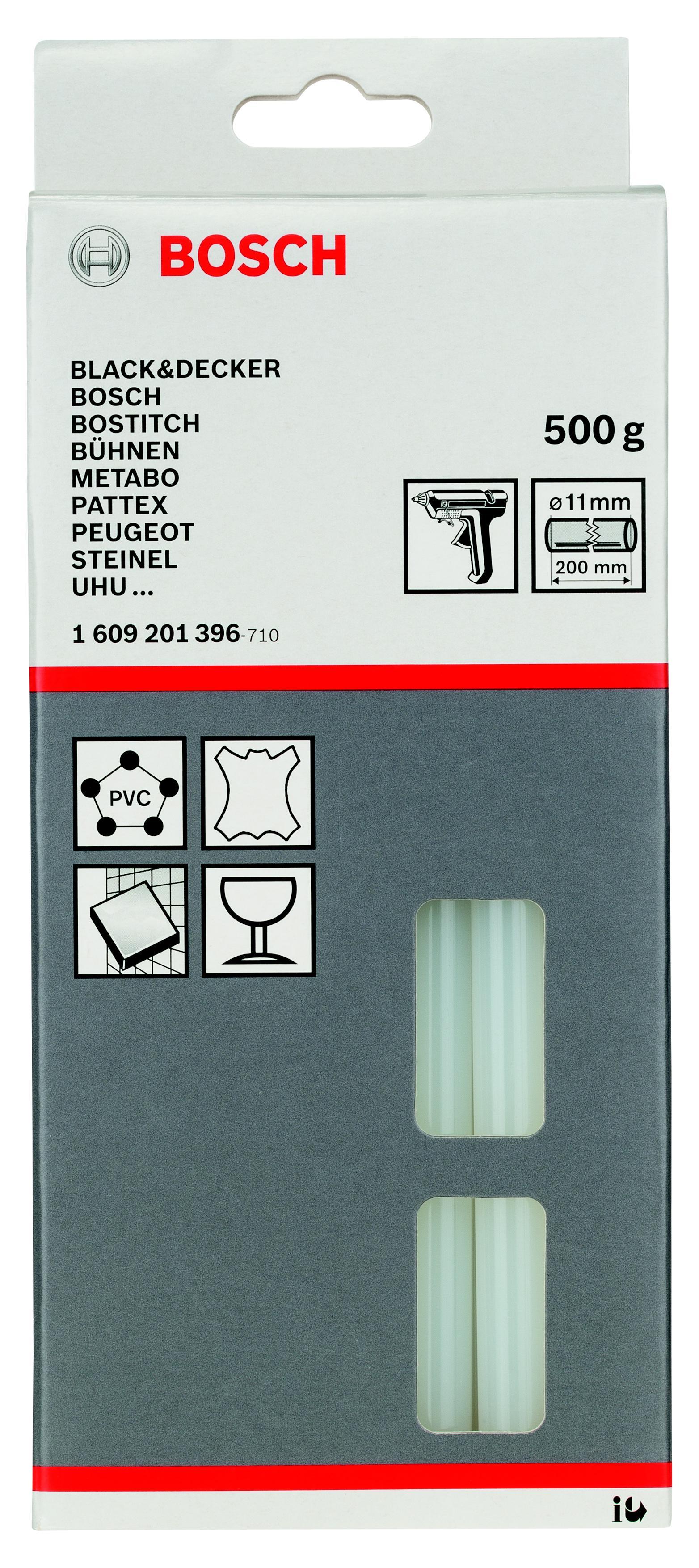 лучшая цена Стержень Bosch Ф11х200мм 25шт/упак (1609201396)