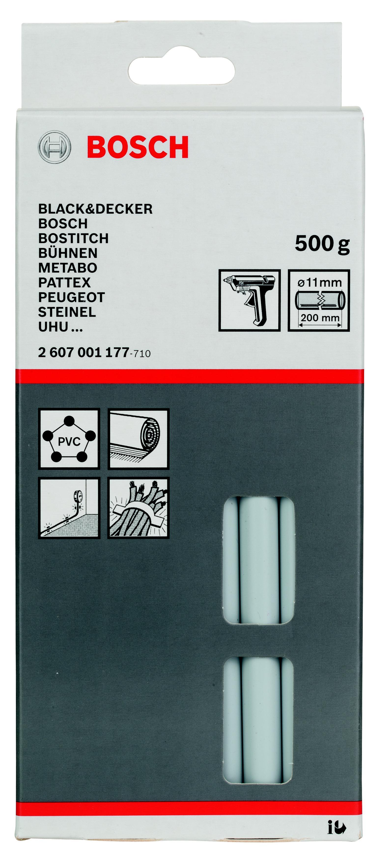лучшая цена Стержень Bosch Ф11х200мм 25шт/упак (2607001177)