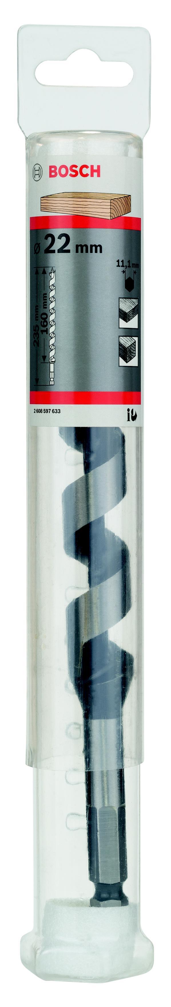 Сверло по дереву Bosch 2608597633 сверло по дереву винтовое hammer flex стандарт 24х460 мм