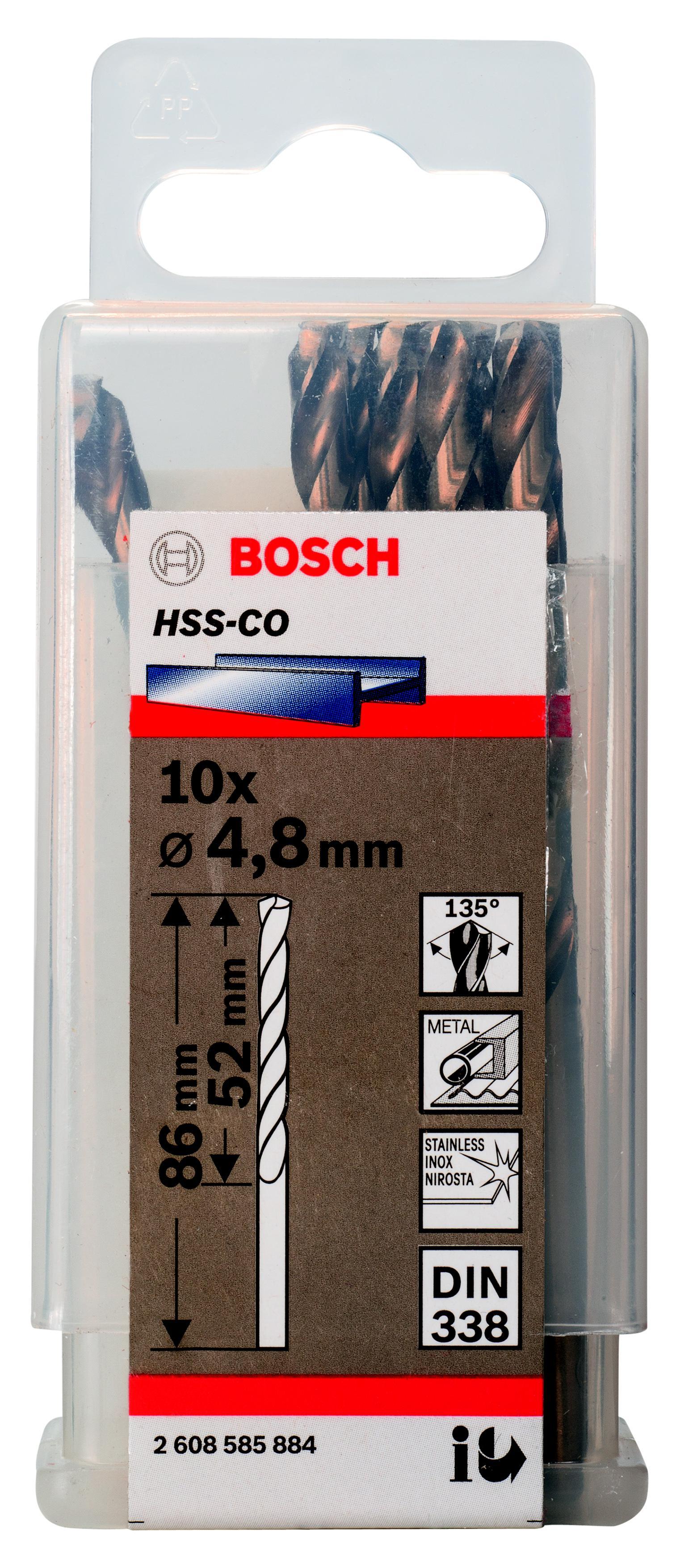 Сверло по металлу Bosch 2608585884