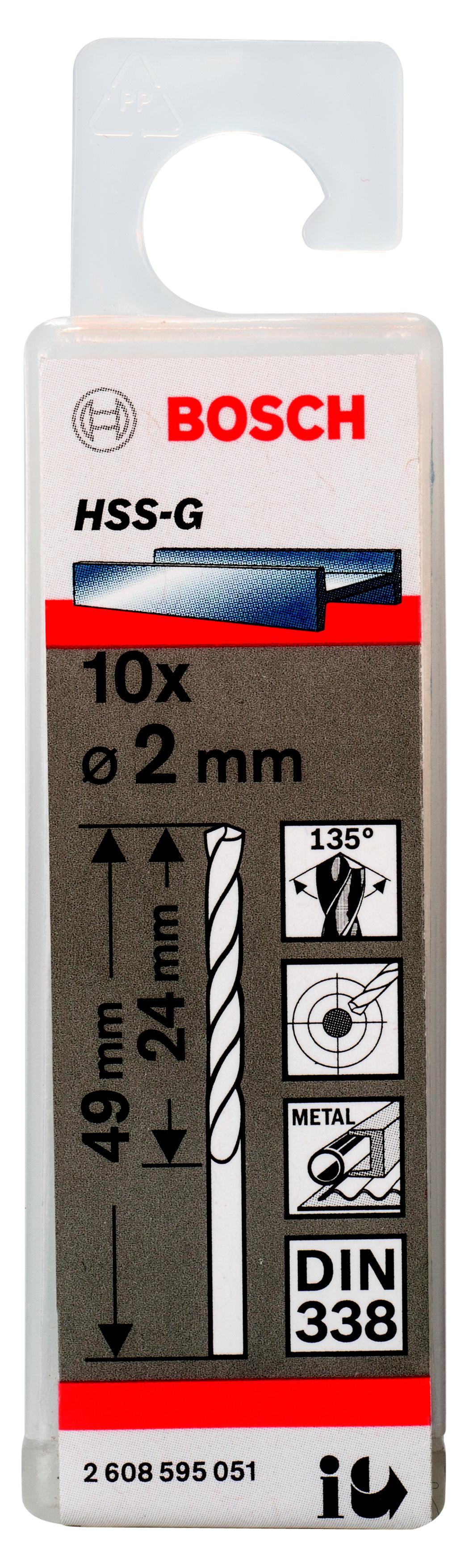Сверло по металлу Bosch 2608595051