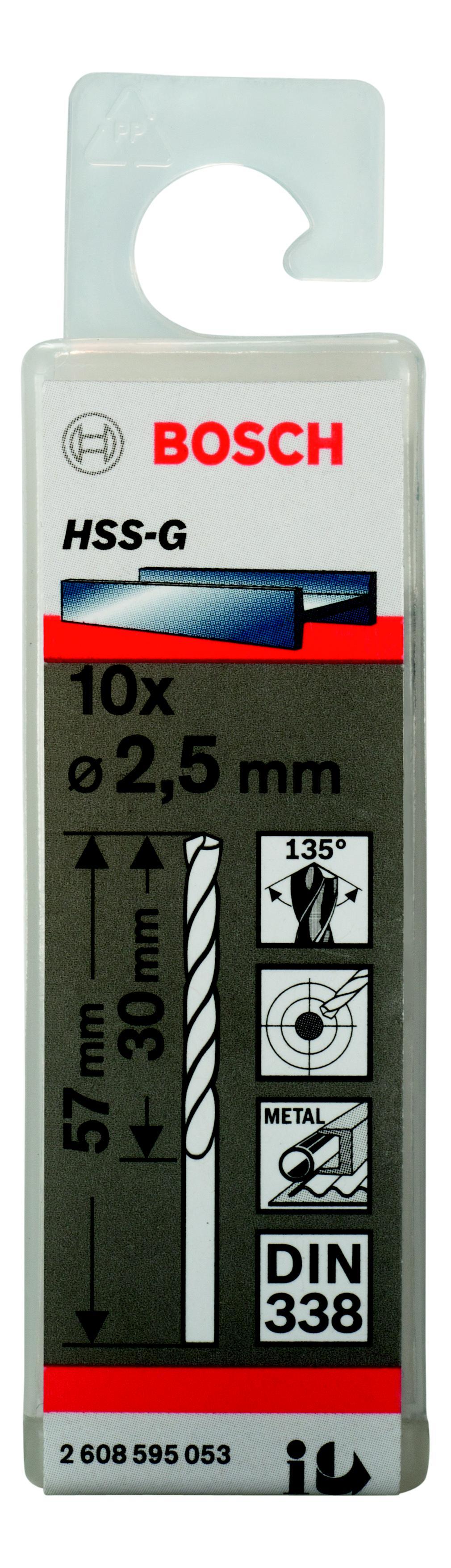 Сверло по металлу Bosch 2608595053