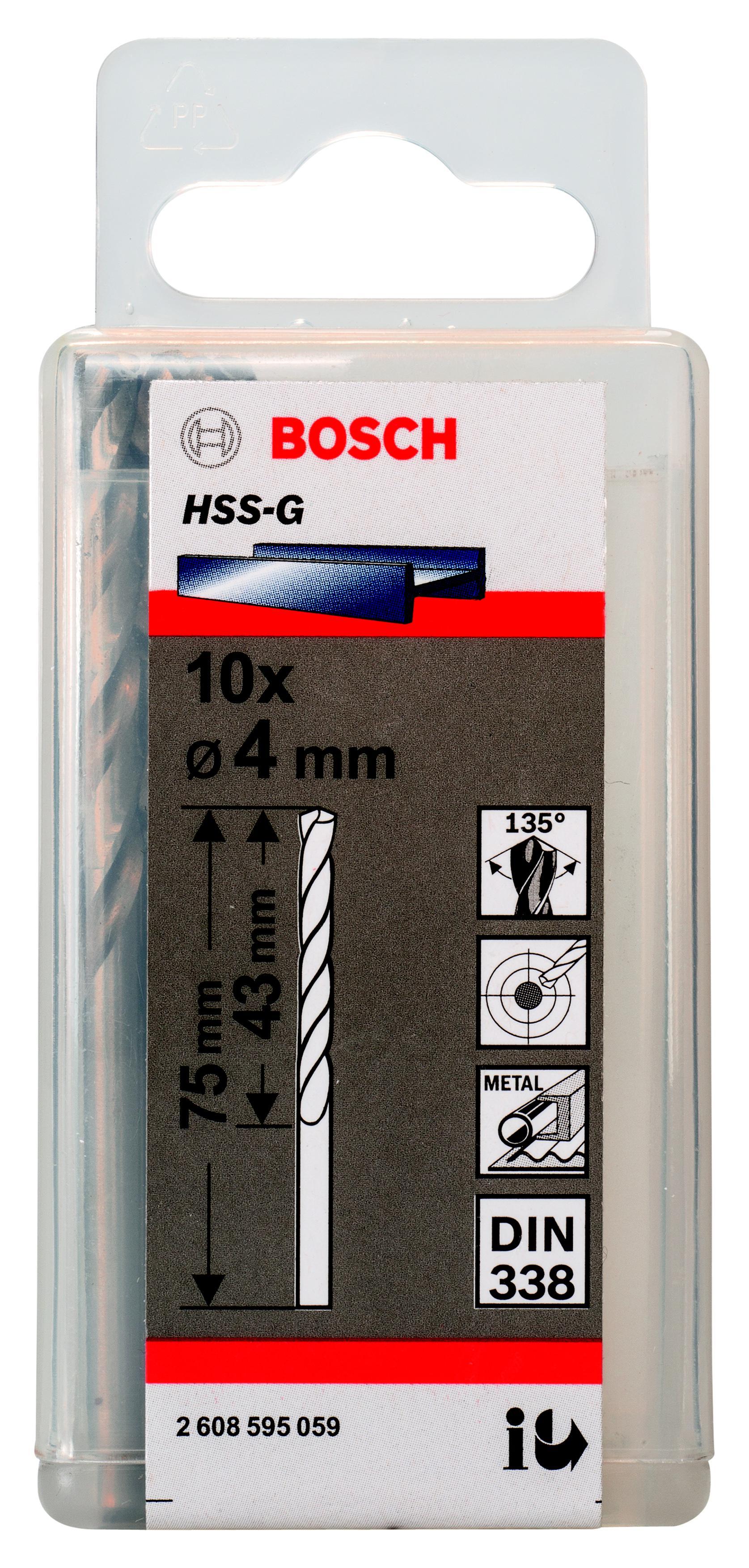 Сверло по металлу Bosch 2608595059