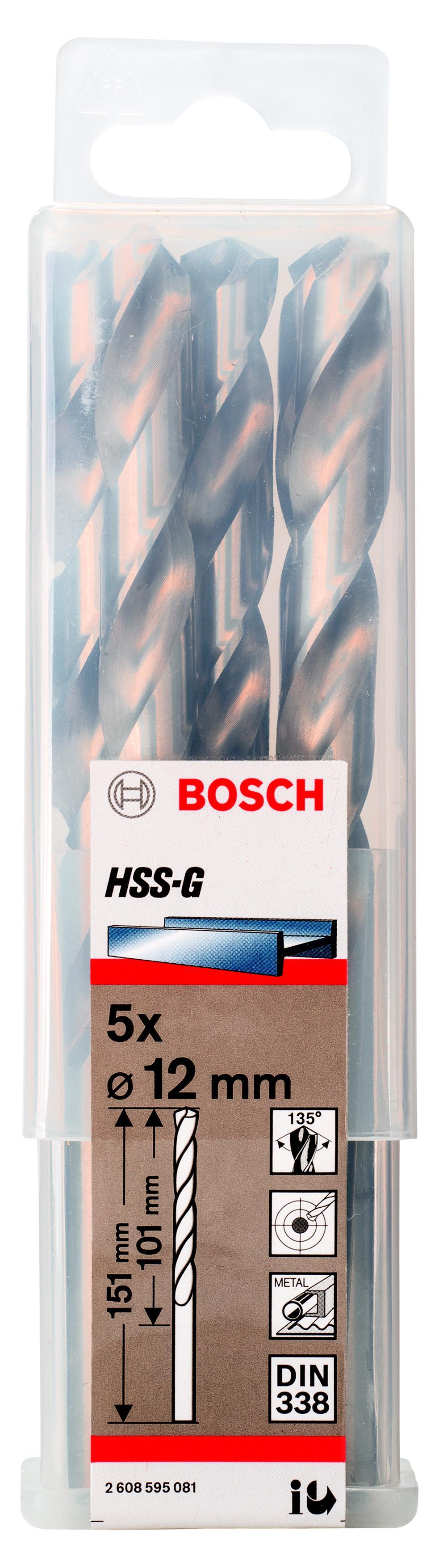 Купить Сверло по металлу Bosch 2608595081
