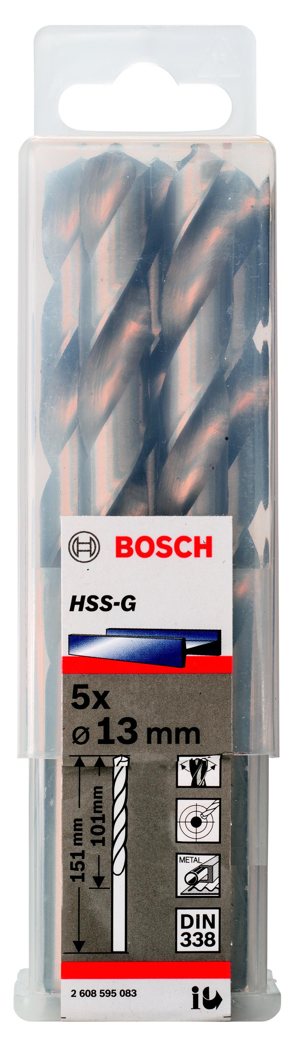 Купить Сверло по металлу Bosch 2608595083