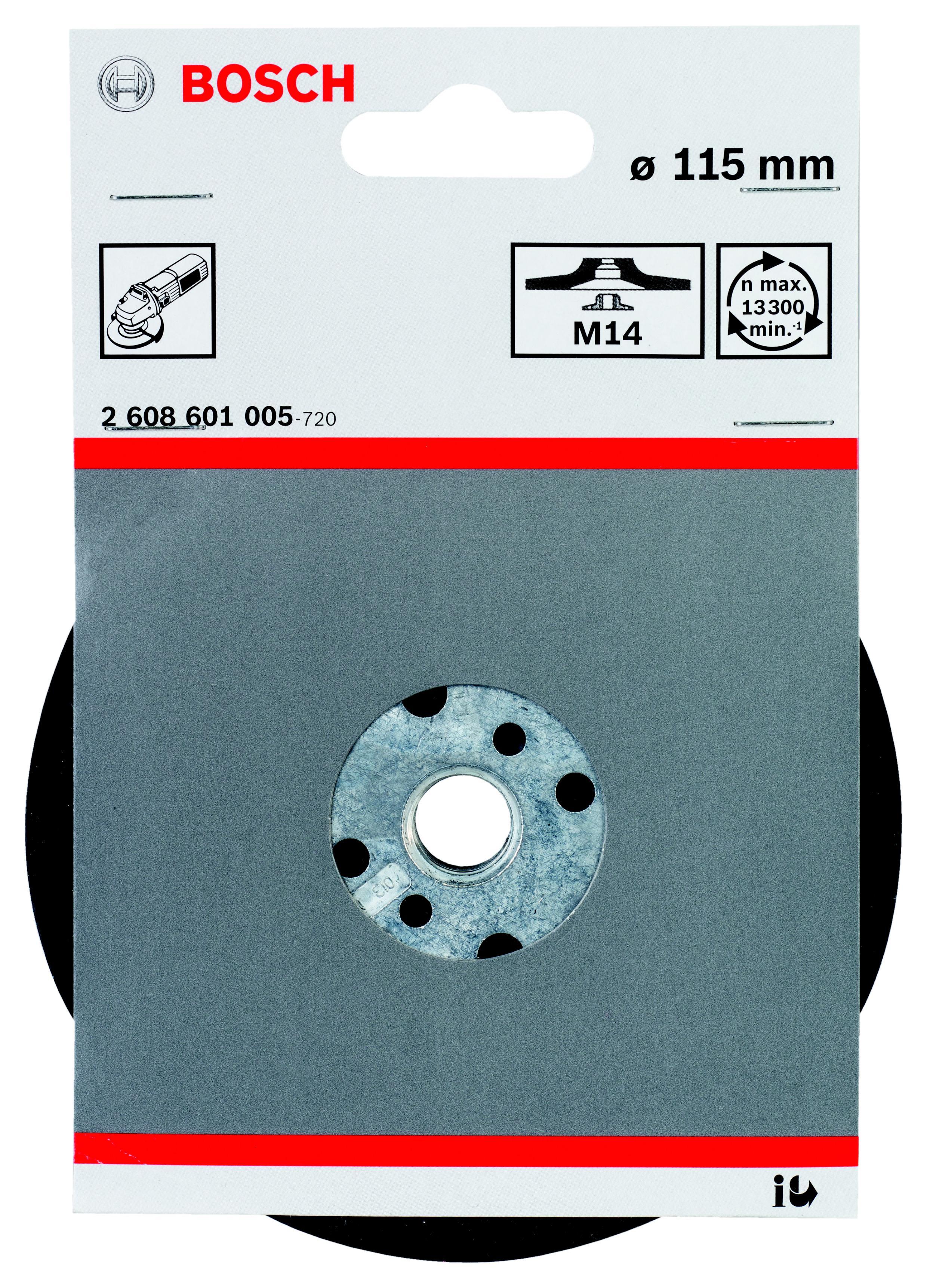 Тарелка опорная Bosch 2608601005 опорная тарелка multihole 125 мм мягкая bosch 2608601333