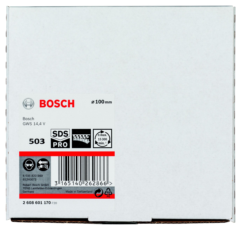 Тарелка опорная Bosch 2608601170 тарелка опорная metabo 631158000