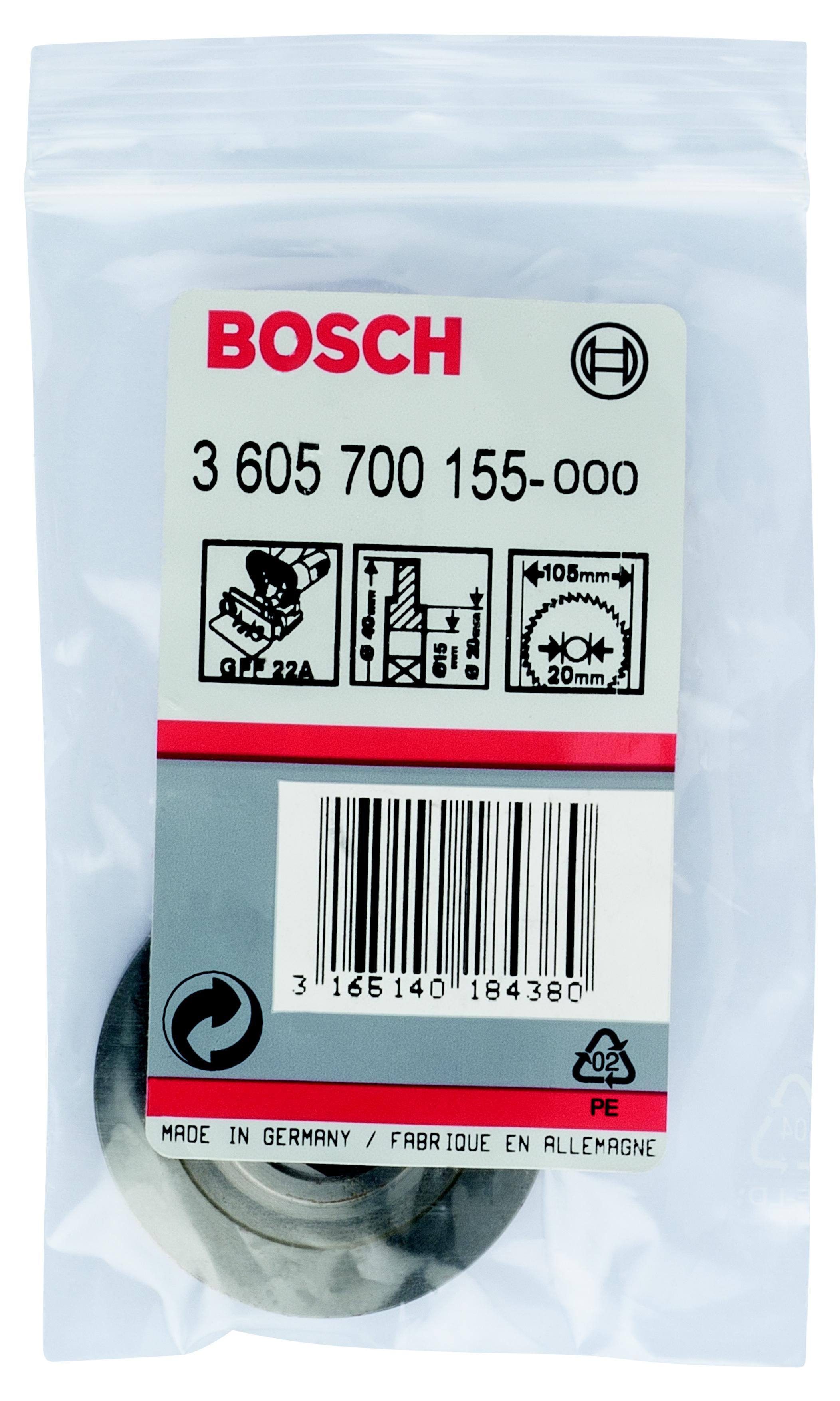 Фланец Bosch 3605700155 фланец плоский