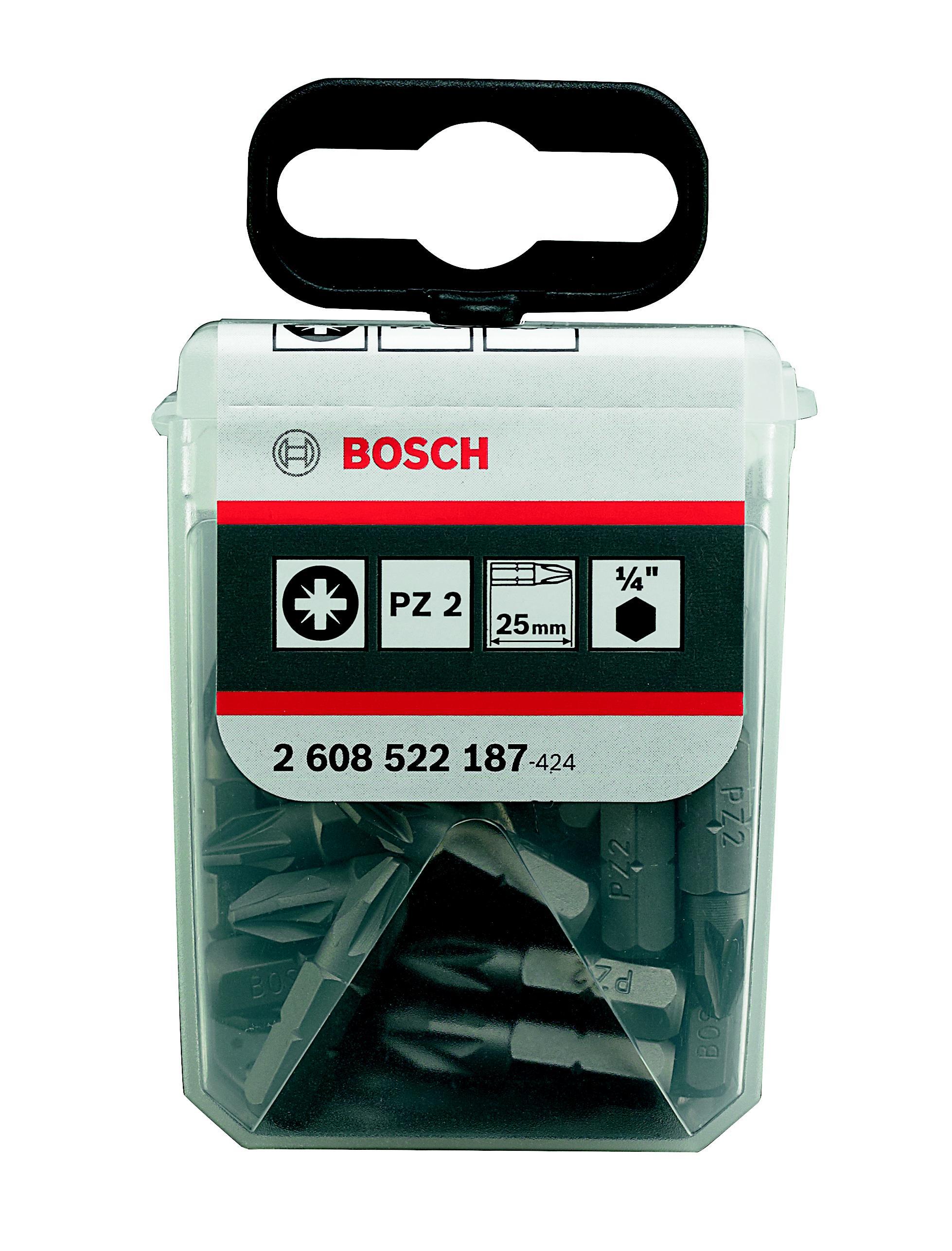 Набор бит Bosch 2608522187 бит makita pz2 pz2 х110мм 3шт b 21939