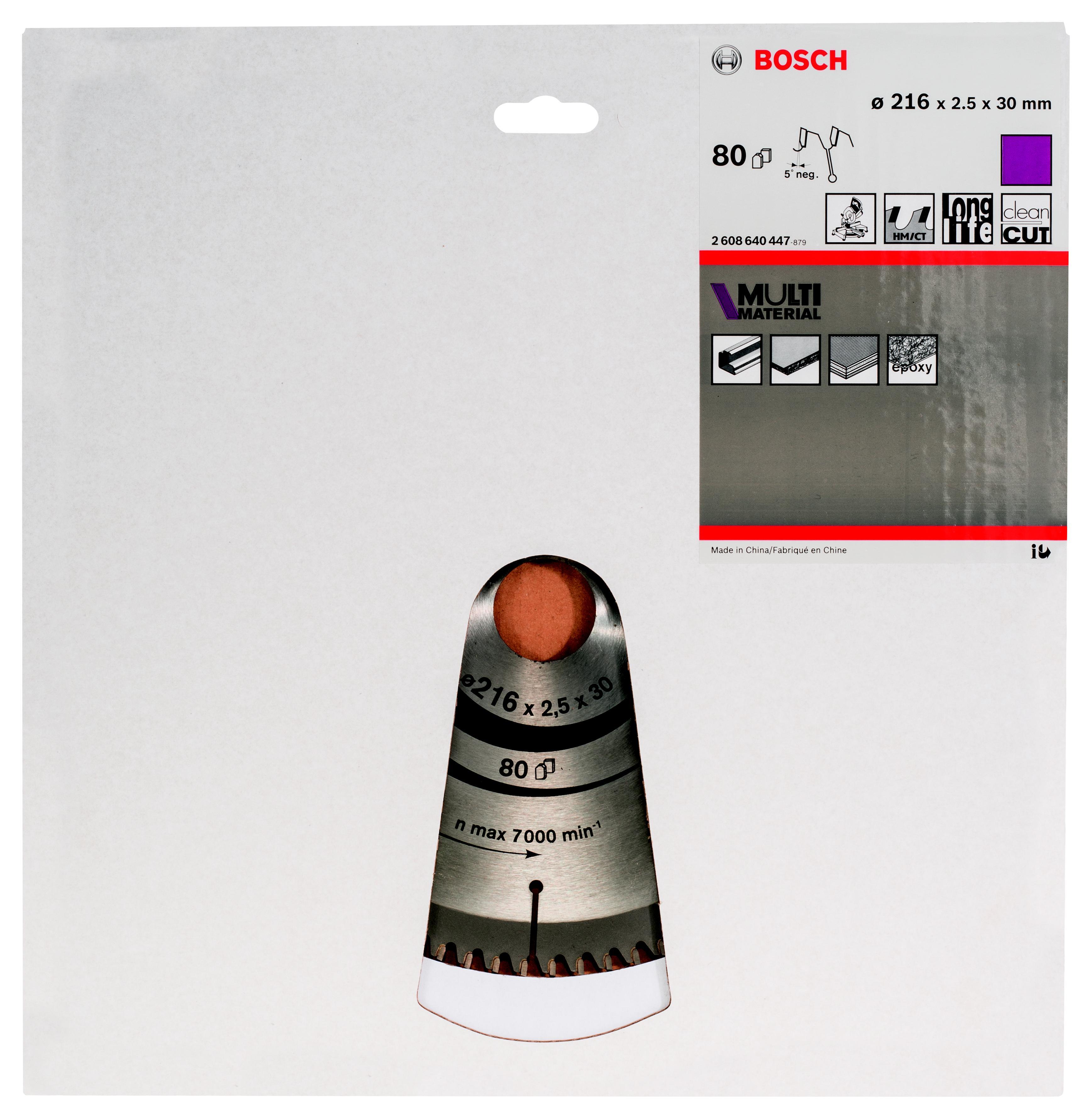 Купить со скидкой Диск пильный твердосплавный Bosch 2608640447
