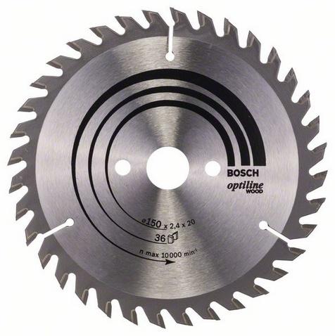 Диск пильный твердосплавный Bosch 2608640593 диск пильный bosch по дереву 85x15мм 20 зубьев
