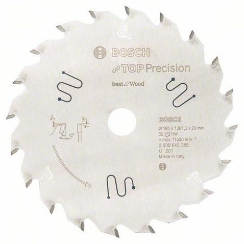 Диск пильный твердосплавный Bosch 2608642385 диск пильный bosch по дереву 85x15мм 20 зубьев