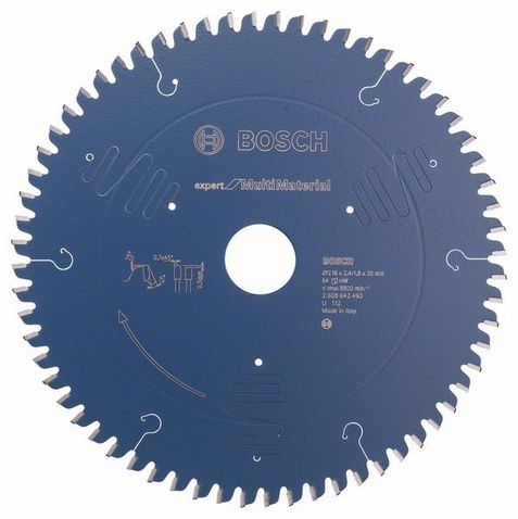 Диск пильный твердосплавный Bosch 2608642493 диск пильный твердосплавный hammer 335х32 30мм 64 зуб