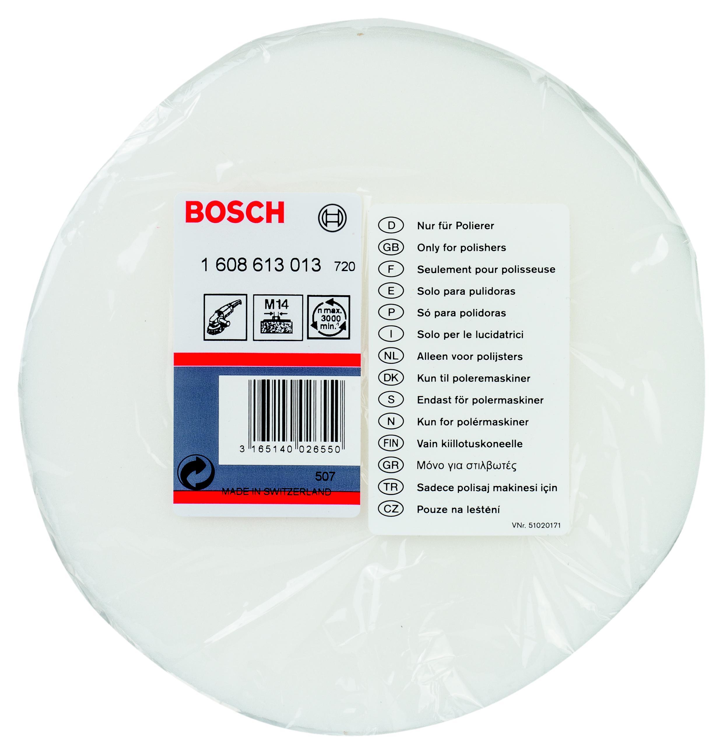 Губка Bosch 1608613013 сумка для такелажной оснастки tplus сompact t009371