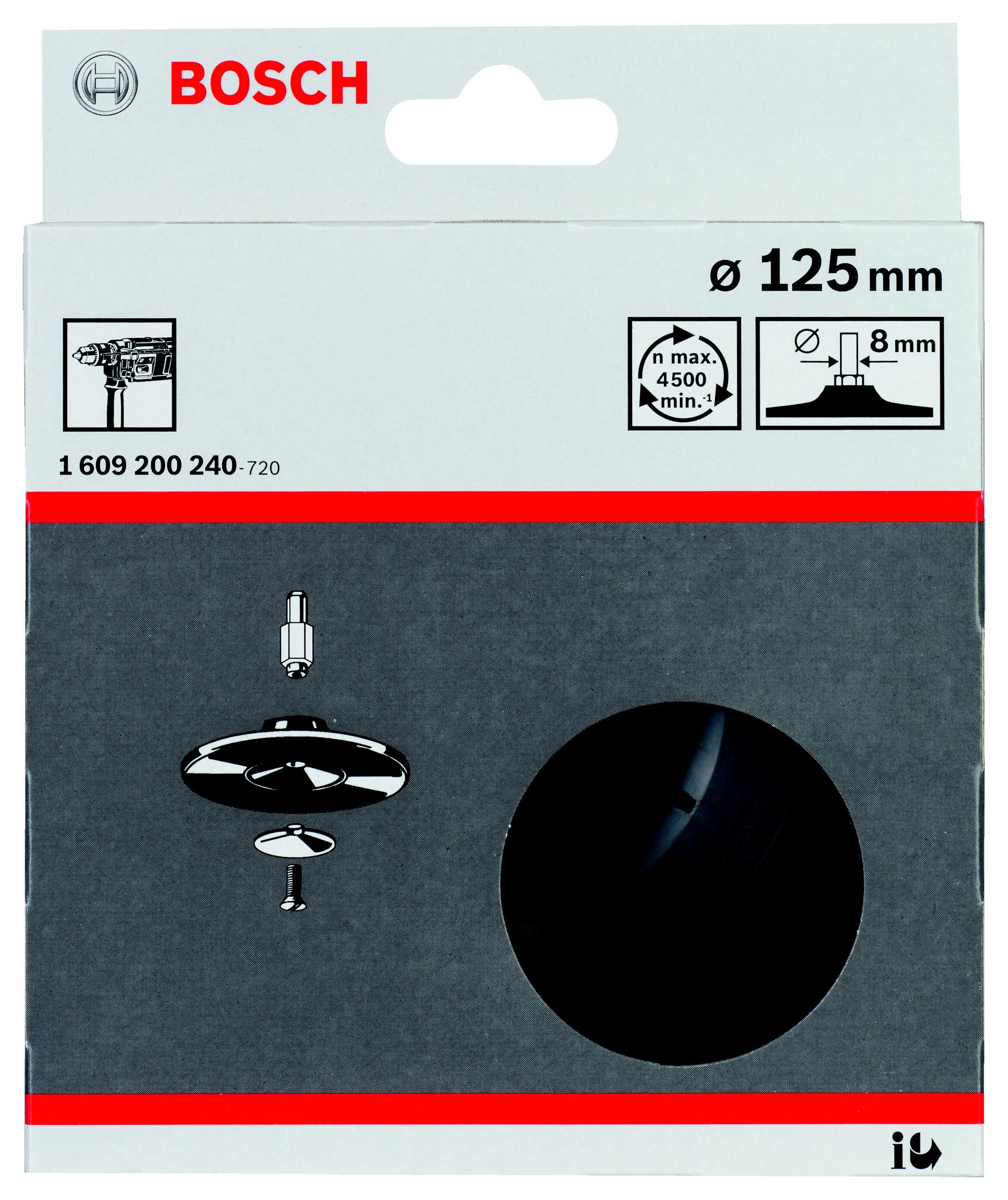 Тарелка опорная Bosch 1609200240 тарелка опорная metabo 631158000