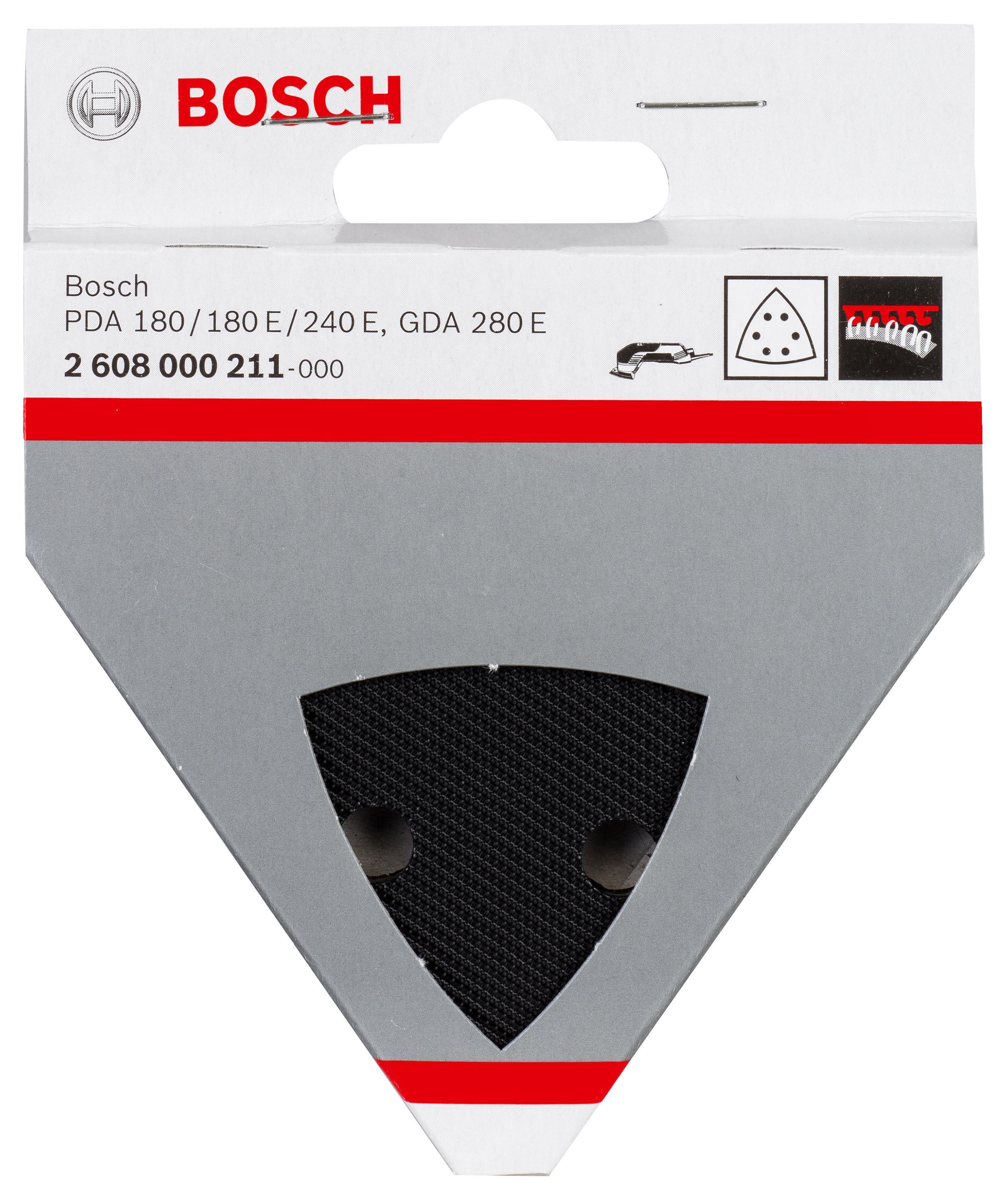 Подошва, основание, опора Bosch 2608000211 bosch из 10 шлифлистов для виброшлифмашин 2609256a86