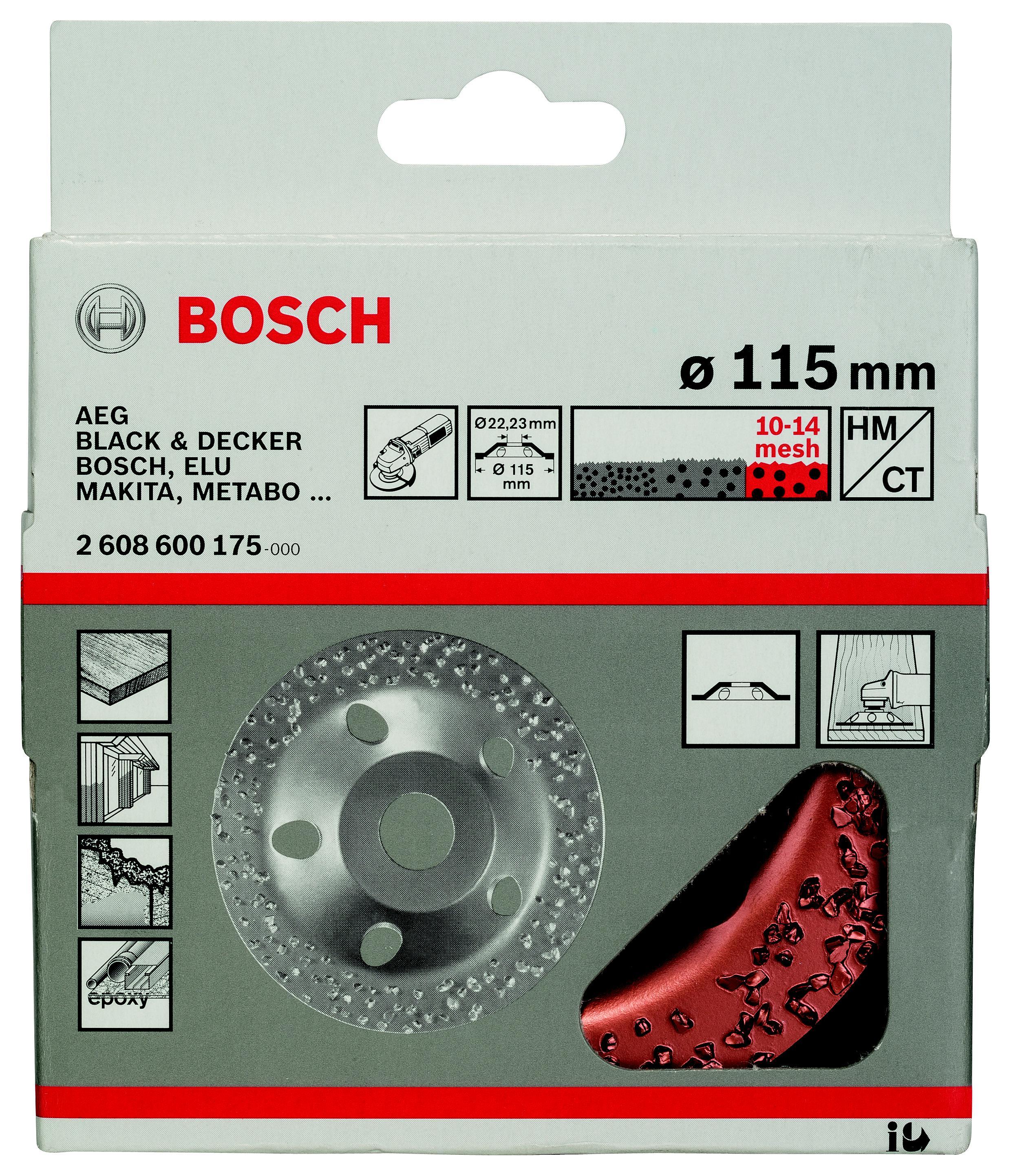 Чашка шлифовальная Bosch 2608600175 шлифовальная машина bosch gss 230 ave professional