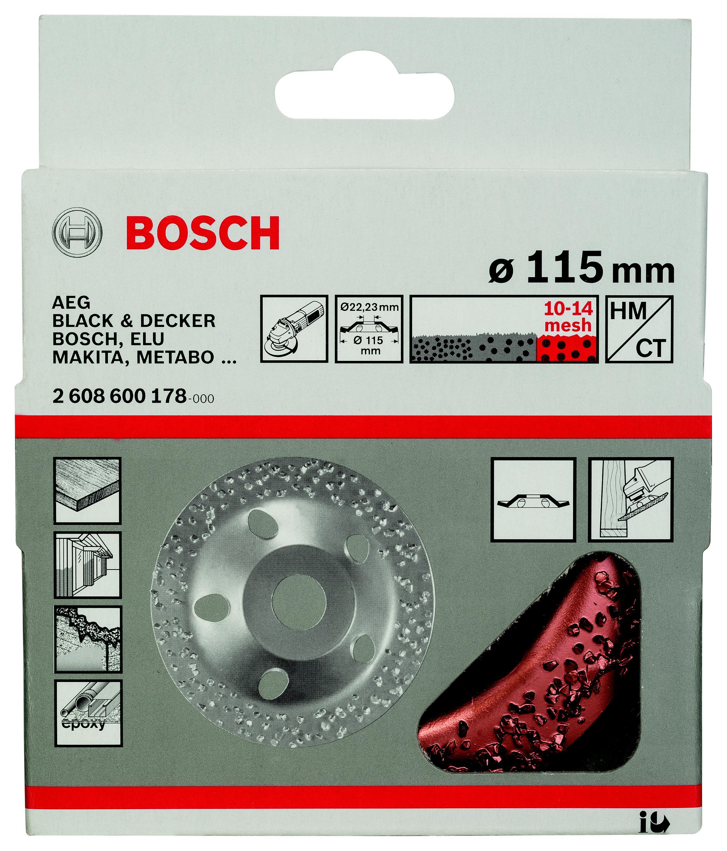 Чашка шлифовальная Bosch 2608600178 шлифовальная машина bosch gss 230 ave professional