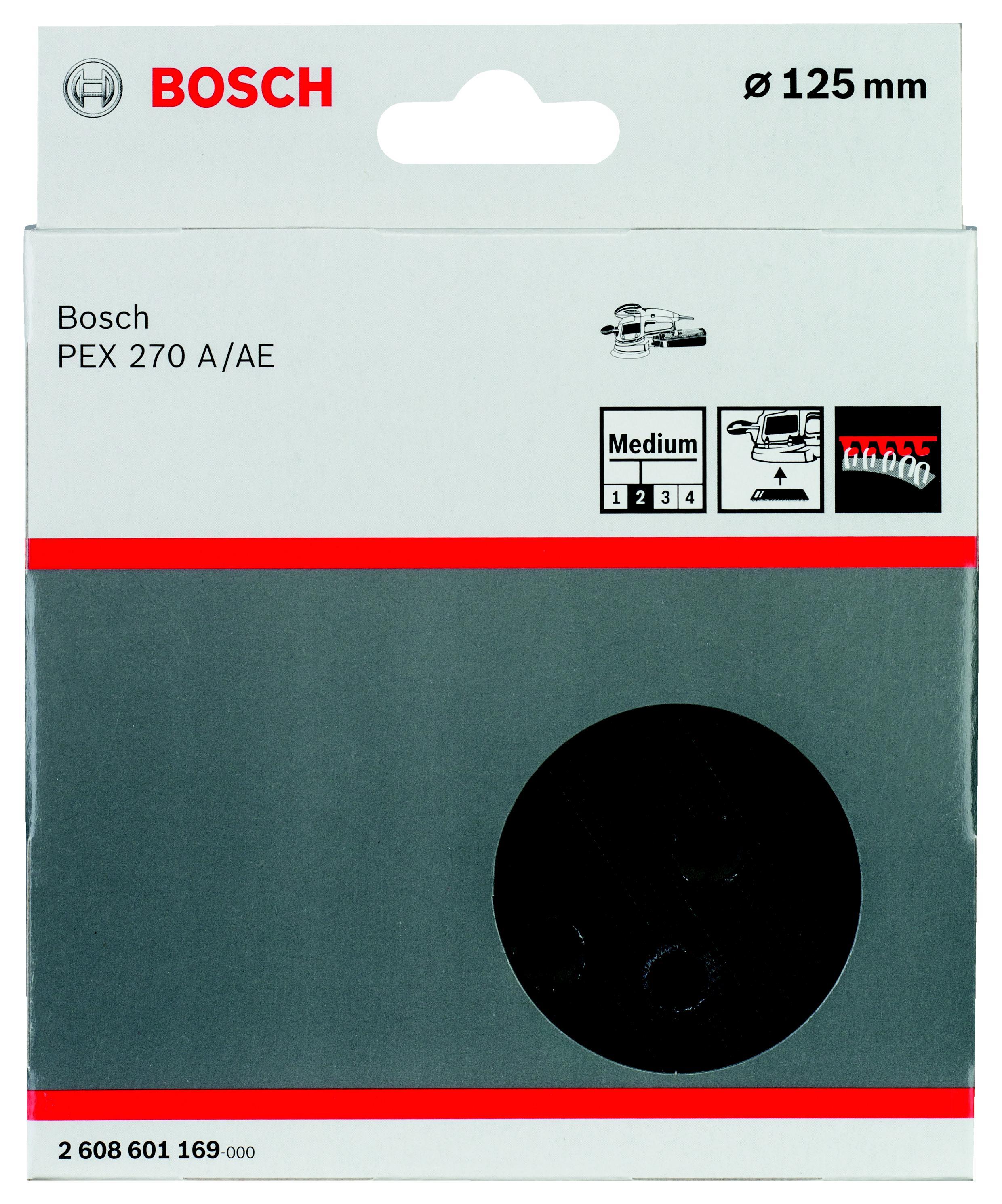 Тарелка Bosch 2 608 601 169 125мм