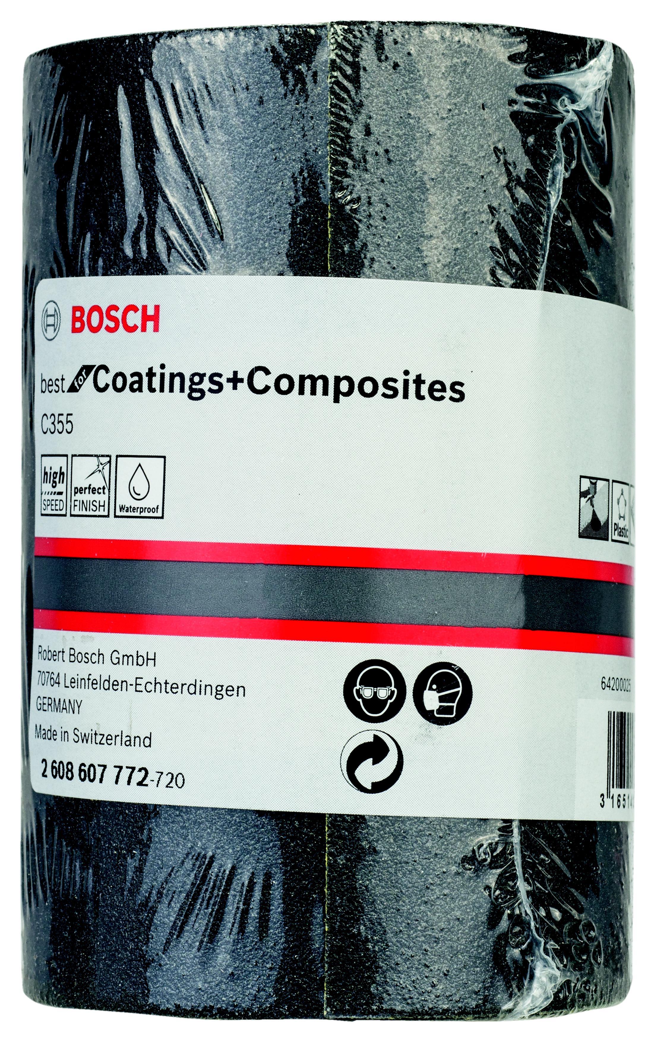 Шкурка шлифовальная в рулоне Bosch 2608607772 шлифовальная машина bosch gss 230 ave professional